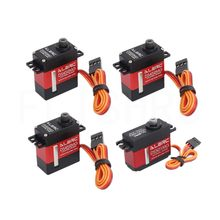 ALZRC 3 stuks DS452MG Servo 'S + 1 stuk DS501MG Servo Voor 380 450 480 500 RC Helicopter(China)