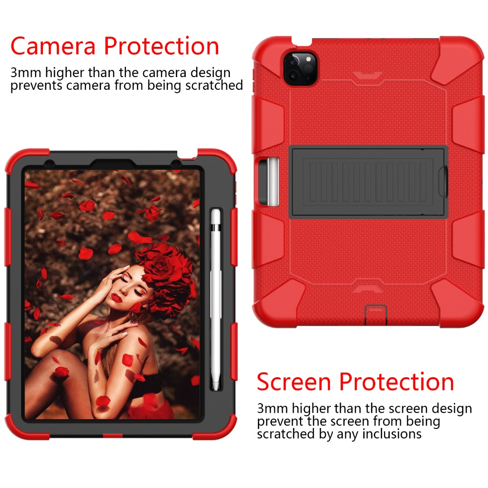 Hybird Kids 2020 Rugged Air inch for Tablet Duty iPad 10.9 Case Shockproof 4 Heavy PC