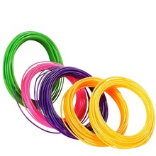 ABS 3D Pen Refilled Filament 5m/10m 1.75mm Random Color 1 Pack Filaments for 3D Printing Pen Consumable Material Free Shipping
