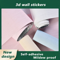 Carta da parati 3D rotolo da parete camera da letto soggiorno TV sfondo decorazione murale adesivi murali autoadesivi Stereo 3D decorazione domestica