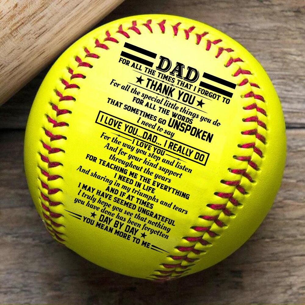 Gifts For Dad I Love You Dad – Baseball Ball softball