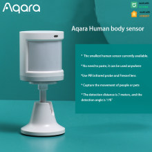 Aqara Smart sensore del corpo umano Motion ZigBee Security sistema di allarme domestico Mini rilevatore di movimento PIR Wireless per Xiaomi Mijia APP