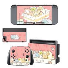 Sumikko Gurashi Nintendo Switch skórka naklejka NintendoSwitch naklejki skórki na konsola Nintendo Switch i Joy Con Controller