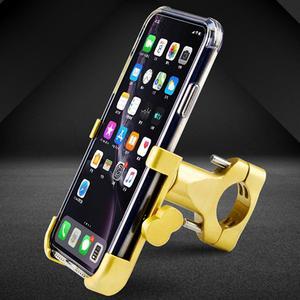 Image 3 - Универсальный держатель для мобильного телефона из алюминиевого сплава, Кронштейн для мобильного телефона мотоцикла, автомобильный навигационный кронштейн