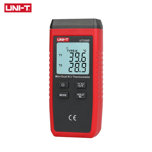 Image 4 - Mini contact Thermometer Dual channel K/J UT320D Thermocouple Thermometer Data to Keep off Automatically