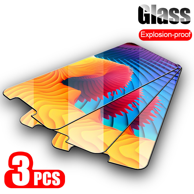 3PCS Tempered Glass For Doogee N20 N10 Mix 2 9H Screen Protector For Doogee X30 X20 X10 VE V Shoot 2 1 S90 S60 Lite Glass Film(China)