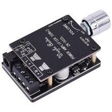 بلوتوث 5.0 اللاسلكية الصوت الرقمي مكبر كهربائي ستيريو مجلس 50Wx2 بلوتوث أمبير مكبر للصوت ZK 502L