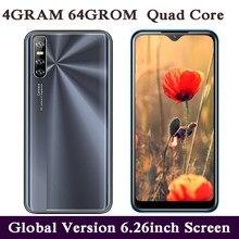 P30 pro 64g rom quad core 4g lte smartphones 4g ram 13mp câmera 6.26