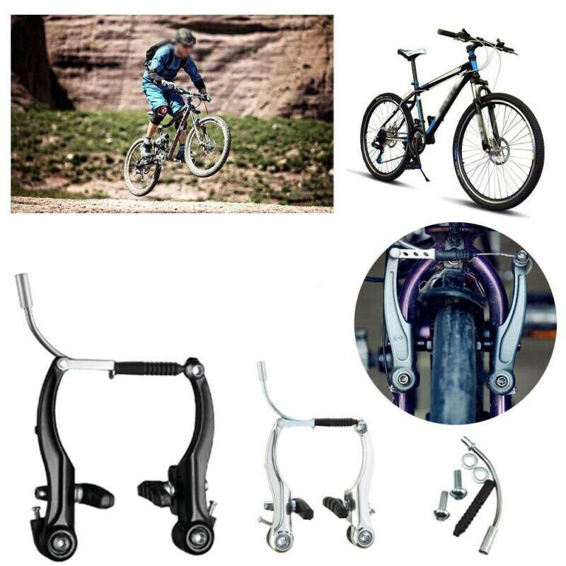 2PC Durable Bicycle Cycling Bike V Brake Holder Pads Blocks Black Universal