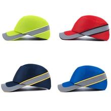 Baseball-Hat Bump-Cap Safety-Protective-Helmet Work Factory-Shop Reflective-Work Hard-Inner-Shell