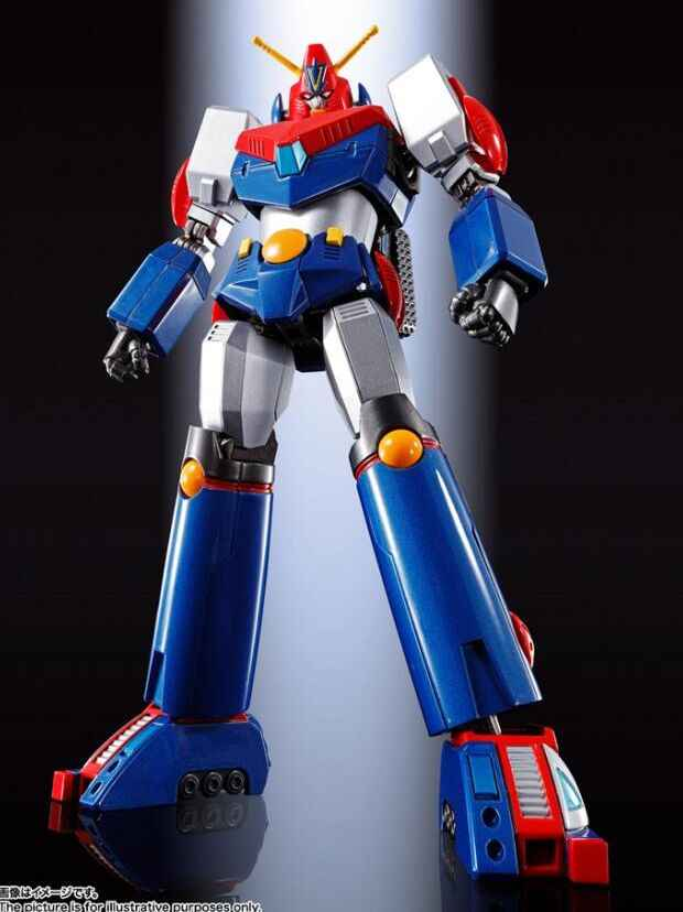 Originele Chogokin GX-90 Super Elektromagnetische Machine Voltes V 18Cm Action Figures Model Modificatie Vervormbare COM-BATTLERV