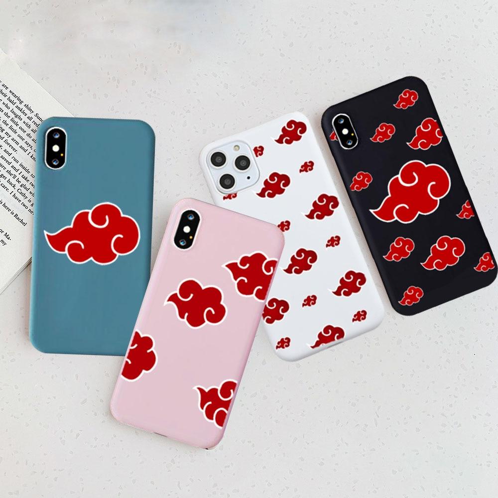 Sasuke Naruto Soft Silicone Cover Case for Iphone 7 8 Plus 6 Plus Case Phone Cover for Iphone 11 ProMax X XR XS Max Couple Case