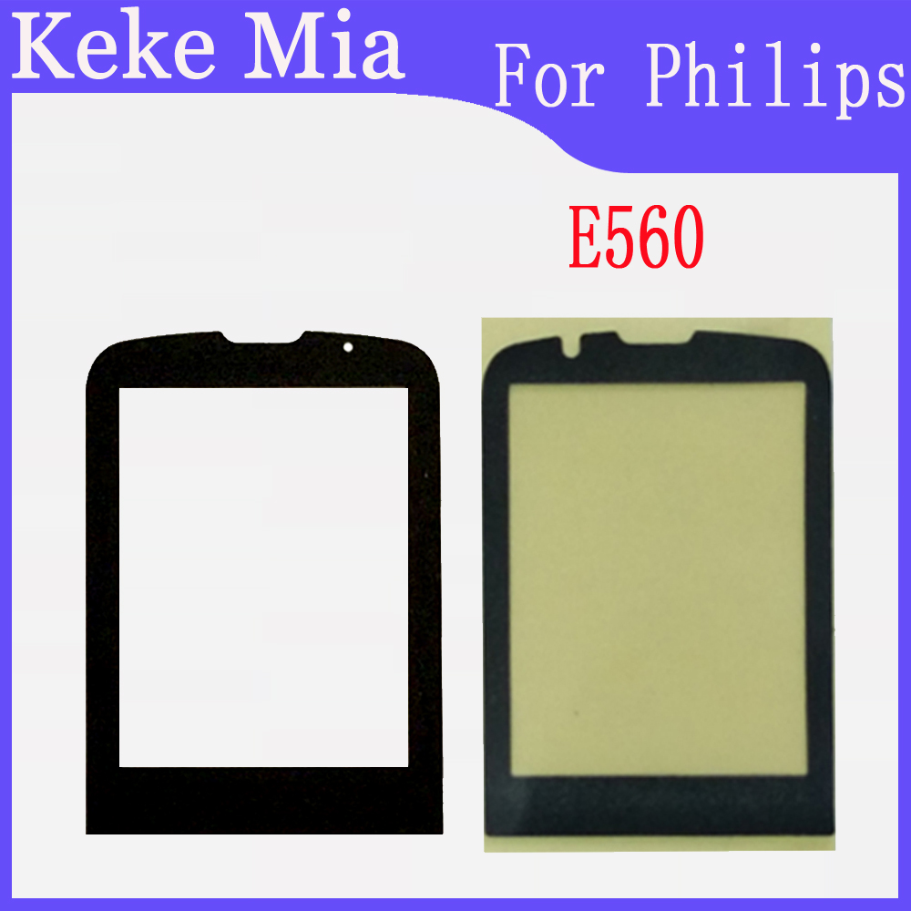 Mobile Phone Lens For <font><b>Philips</b></font> <font><b>E560</b></font> E570 E571 X513 X623 X1560 X5500 Front Panel Lens Not Glass Touch Screen image