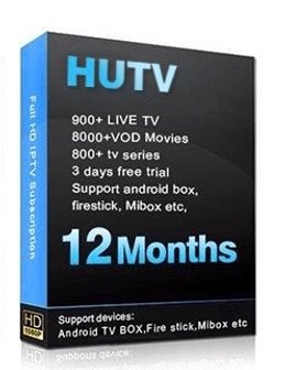 HUTV Superbox IPTV 4K HD Canada USA English North America Lation IPTV For Firestick,Mibox, Android Box With 12 Months Service