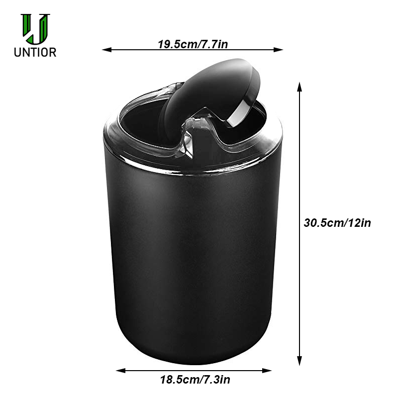 Image 5 - UNTIOR 6 Pcs Plastic Bathroom Accessories Set Toothbrush Holder Toothbrush Cup Soap Dispenser Soap Dish Toilet Brush Trash Can-in Bathroom Accessories Sets from Home & Garden