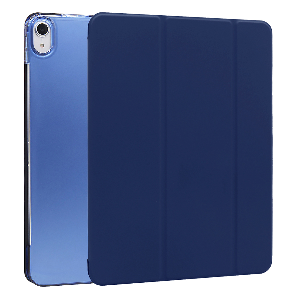 Dark blue Other For iPad Air 4 10 9 Inch Flip Stand Case Protective Cover Auto Wake Up Sleep