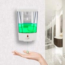 Automatic Soap Dispenser 700ml Non-Contact Induction Soap Dispenser Wall-Mounted Soap Dispenser Bathroom Kitchen Accessories