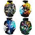 Boys 3D2021 sudadera con capucha de estilo callejero con capucha de tendencia para hombres populares