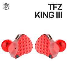 TFZ/KING iii,Dynamic Driver Monitor In-ear earphones,2pin 0.78mm HIFI Detachable earphone, Adopt TFZ third generation sound unit 2018 tfz tequila 1 hifi audiophile 2 pin 0 78mm hifi music monitor studio detachable in ear earphone iems dynamic mmcx earbuds