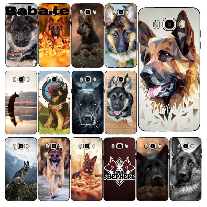 Babaite German Shepherd <font><b>Dog</b></font> Phone <font><b>Case</b></font> For <font><b>Samsung</b></font> Galaxy <font><b>J7</b></font> J6 J8 J4 J4Plus <font><b>J7</b></font> DUO J7NEO J2 <font><b>J7</b></font> Prime image