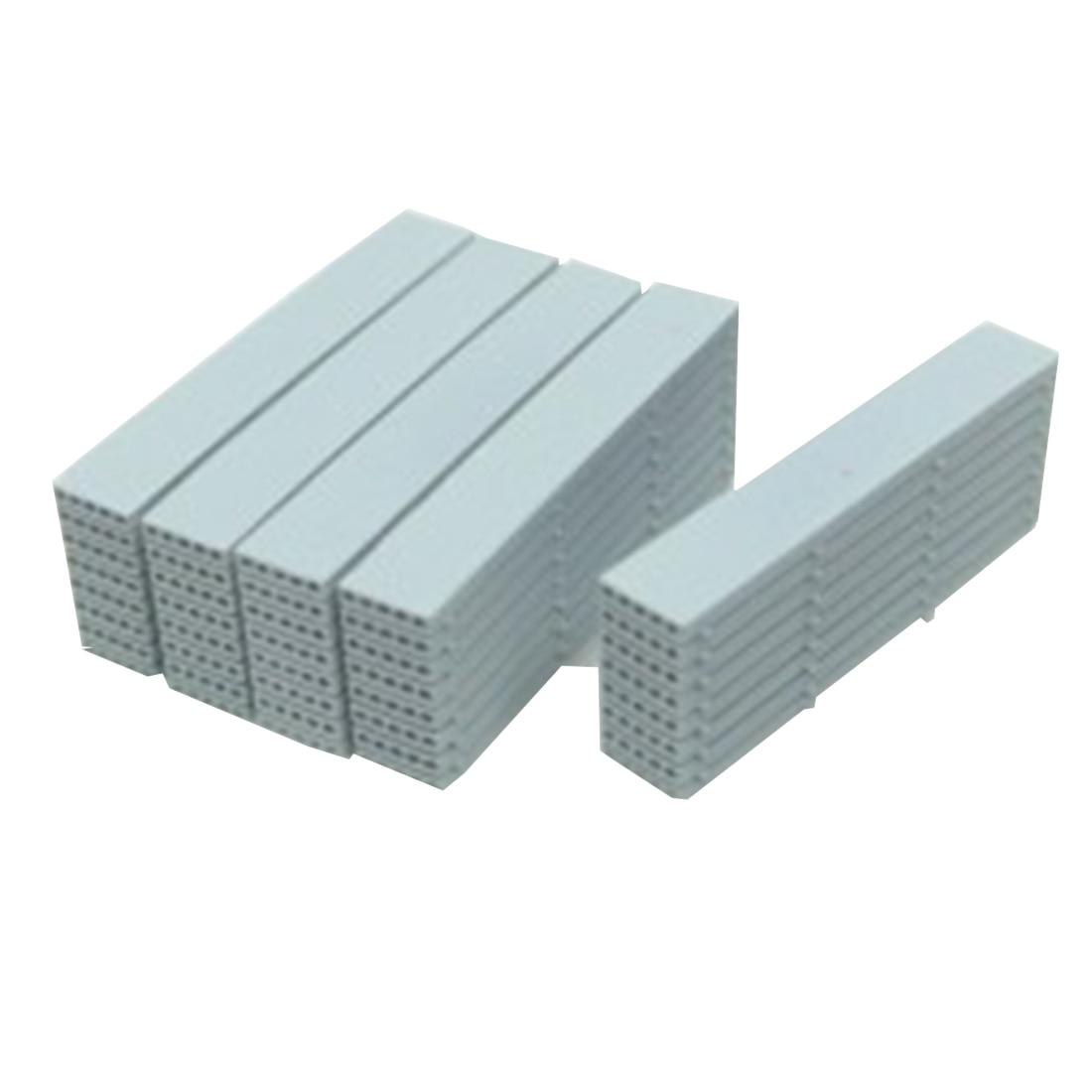 5Pcs/set 3.5cm 1:87 HO Scale Train Model Station Prefabricated Panels Sand Table Simulation Prefabricated Panels - Short