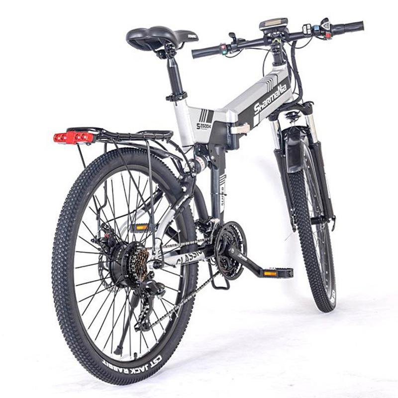 Foldable Electric Scooters E Bike Scooter 48V 350W 2 Wheels Electric Bicycles White/Yellow