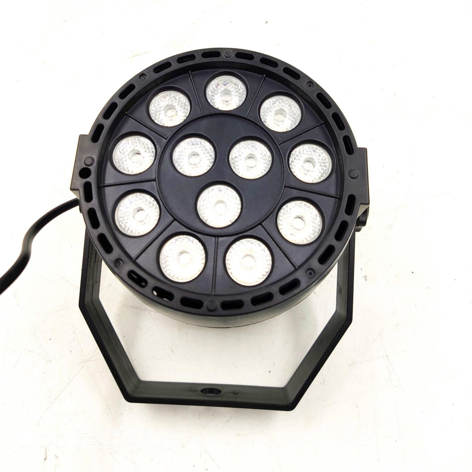 LED Par 12x3W RGBW LED Stage Licht Par Licht Met DMX512 Voor Disco DJ Projector Machine Party Decoratie SHEHDS Podium Verlichtin