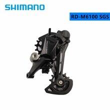 SHIMANO DEORE SLX XT RD M6100 M7100 M8100 12S SGS arka vites MTB vites 12 Speed dağ bisikleti m7100 uzun kafes