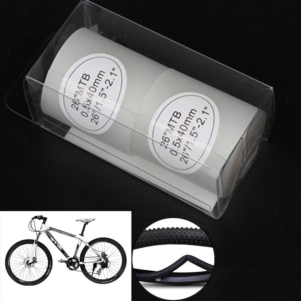 2pcs Bike Tire Liner Puncture Proof Belt Protection Pad Cycling Tyre Tape