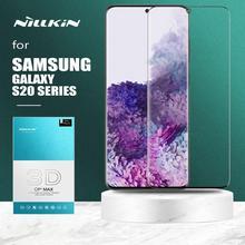 Nillkin Protector de pantalla de vidrio templado 3D para Samsung Galaxy Note 10 9, cubierta completa CP + Max, para Samsung S20 Ultra S10 Plus