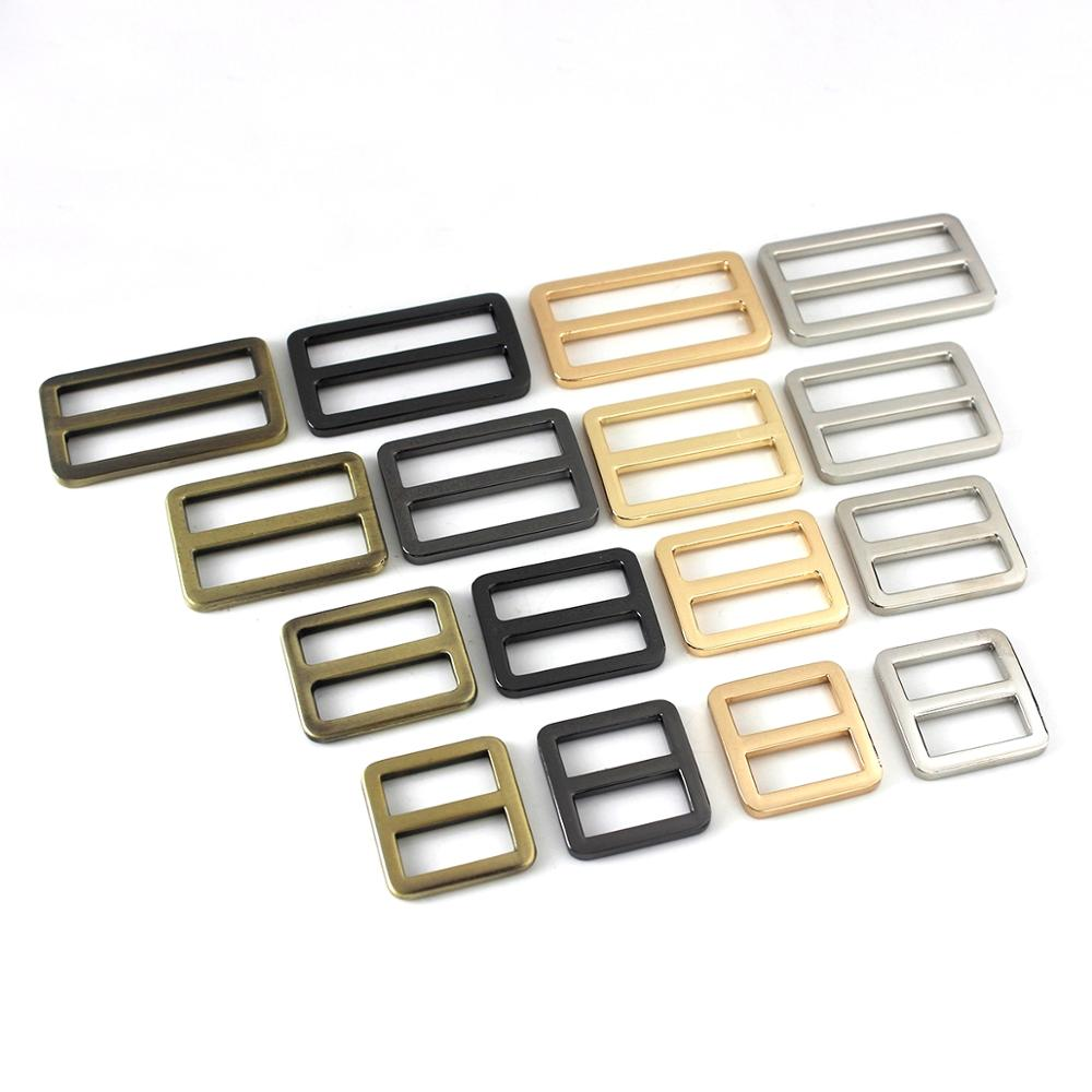 1x Metal Flat Wire Formed Rectangle Ring Buckle Loops Webbing Leather Craft Bag Strap Belt Buckle Garment Luggage DIY Accessory