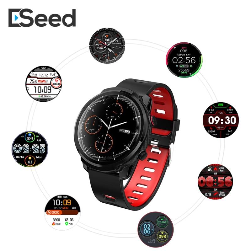 Мужские Смарт часы ESEED L5 Pro S10 pluS, IP67 водонепроницаемые умные часы с сенсорным экраном, длительное время работы в режиме ожидания, пульсометр,