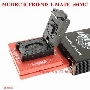 Image 5 - Новая высокоскоростная коробка MOORC с EMATE EMMC BGA 13in 1 для 100 136 168 153 169 162 186 221 529 254 Z3X легкий Jtag