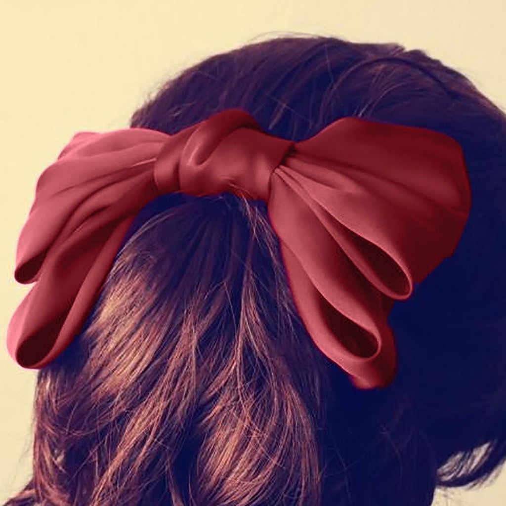 Acessórios para o cabelo moda cor sólida arco-nó headclip das mulheres acessórios para o cabelo meninas hairpin presente bandana gumki fazer wlosow