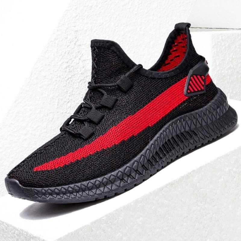 אביב גברים נעלי גומי נעלי סניקרס גברים של נעלי ריצה ללבוש עמיד נעליים יומיומיות גברים של קוריאני טרנדי נעלי נסיעות Tr