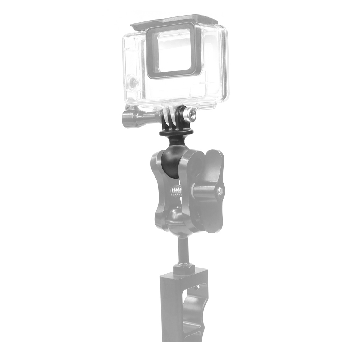 Portable Mini Tripod Ball Head Base Adapter Plastic for GoPro Hero 8 7 6 5 Osmo Action Sjcam Yi Camera for RAM Mounts Motorcycle