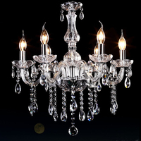 contemporary dining room chandelier Modern crystal Chandelier Lighting 6light mini chandelier 3w led lights free shipping