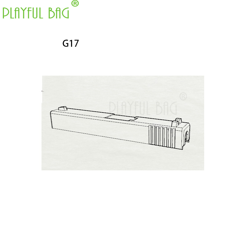 Outdoor Sports Interesting Toy Competitive 3D Printing For SKD GLK G17 G18 Cylinder Shell Water Bullet Gun Fittings KD11
