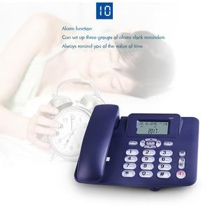 Image 5 - สายโทรศัพท์พื้นฐานโทรศัพท์ลำโพง R คีย์,ปุ่มปรับตัวอักษรความสว่าง, dual Port สายโทรศัพท์สำหรับ Home Office