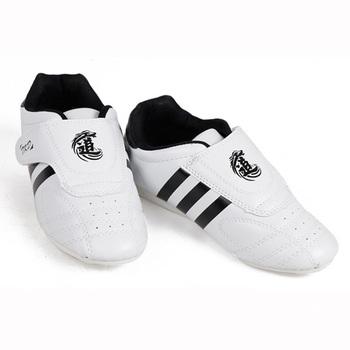 Taekwondo buty męskie damskie wysokiej jakości oddychające buty Kung Fu Wushu Taichi Karate sztuki walki zapasy walki Sneaker tanie i dobre opinie CN (pochodzenie) Dobrze pasuje do rozmiaru wybierz swój normalny rozmiar ANTYPOŚLIZGOWE T006 SYNTETYCZNE RUBBER unisex