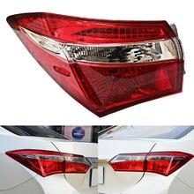 Для Toyota Corolla комплект для освещения автомобиля Авто задний фонарь Поворотная сигнальная Тормозная лампа Предупреждение ющий бампер свет