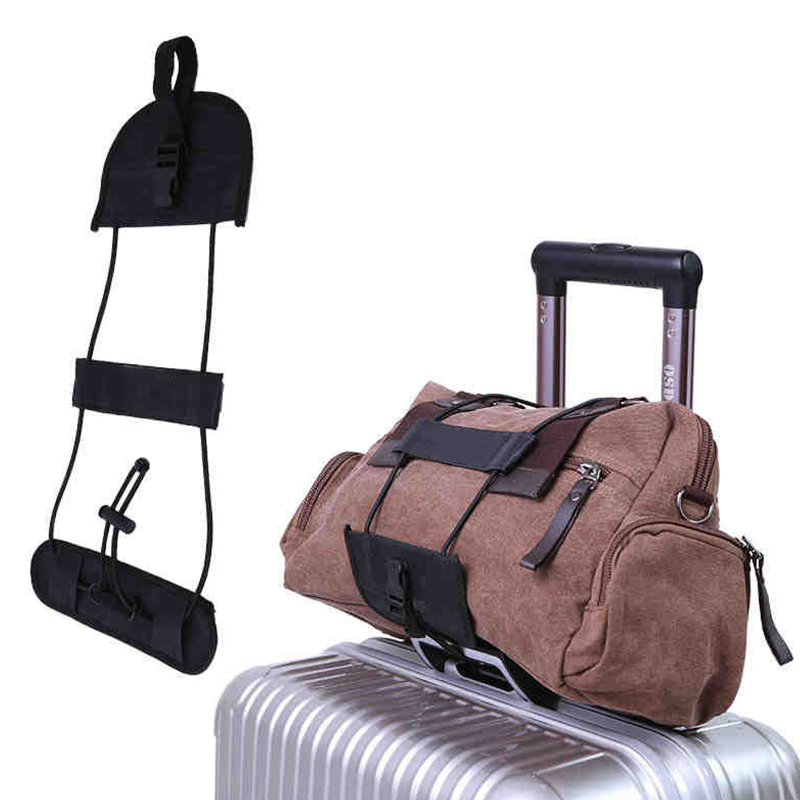 Elastic Luggage Strap Suitcase Bag Fixed Belt Adjustable Travel Accessories May Stretching Luggage Rope Bandage Bundled Strap
