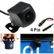 Водонепроницаемая Автомобильная камера заднего вида 12 В 170 ° С 4 контактами для автомобиля SUV Mirror Dash Cam Автомобильная камера заднего вида с ви...