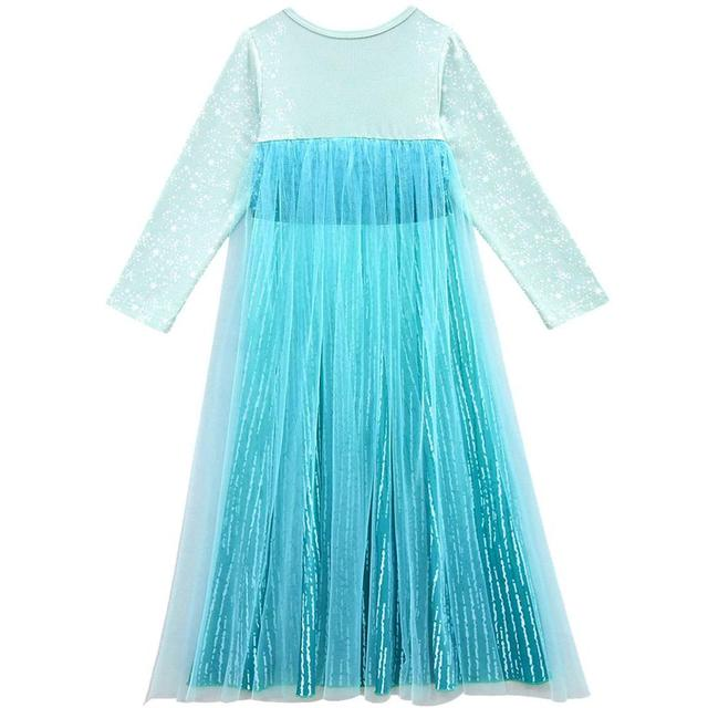 Frozen 2 Elsa Anna Dress Girls Costume Cute Party Princess Cosplay Baby Dresses Children's Christmas Birthday Set Clothes