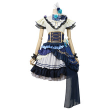 Japanese Anime BanG Dream! Noble Rose Cosplay Costume Uniform Hikawa Sayo Halloween Dress Custom Made Free Shipping B