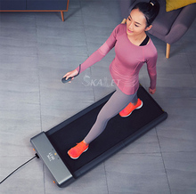 Portable Folding Home Treadmill Walking Pad Sports Smart Walking Machine Body Building mini walk smart tablet home use reduce vibration body sense control running machine super light for fitness treadmill