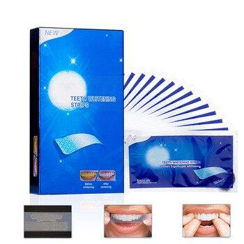 Двойные эластичные полоски для отбеливания зубов, для гигиены полости рта, 28 шт./14 пар