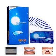 28 sztuk 14Pairs zaawansowane wybielanie zębów paski usuwanie plam na higiena jamy ustnej czysta podwójna z gumką Dental wybielanie taśmy tanie tanio Umiarkowane D1210008 Safe food grade ingredients Moderate 14 pairs pack 7 pairs pack