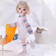 BJD Doll Shuga Fairy Rita 1/6 Anime Figure Resin Toys for Kids Surprise Gift for Girls Birthday Full Set YOSD 26cm