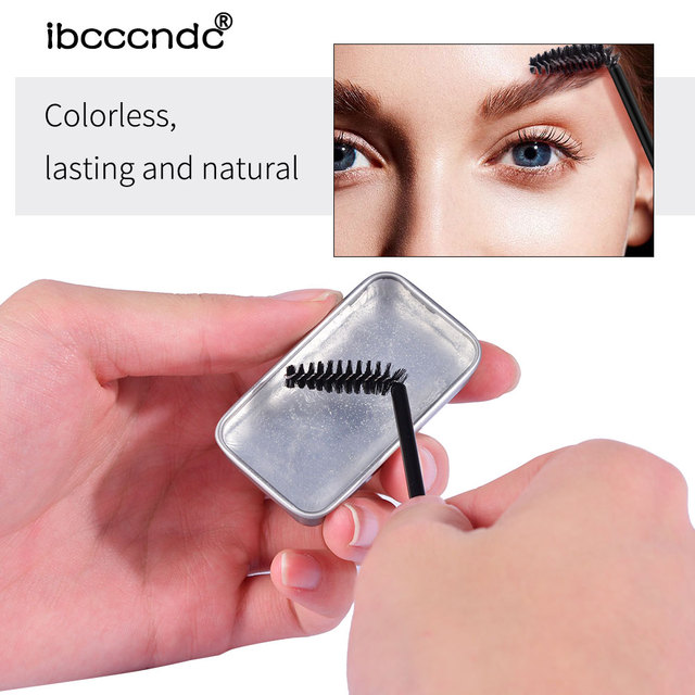 3D Feathery Brow Styling Soap Lamination Setting Gel Waterproof Long Lasting Brows Tint Eyebrow Gel Pomade Kit Makeup Cosmetic 1